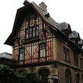 Maison typique de la cote normande