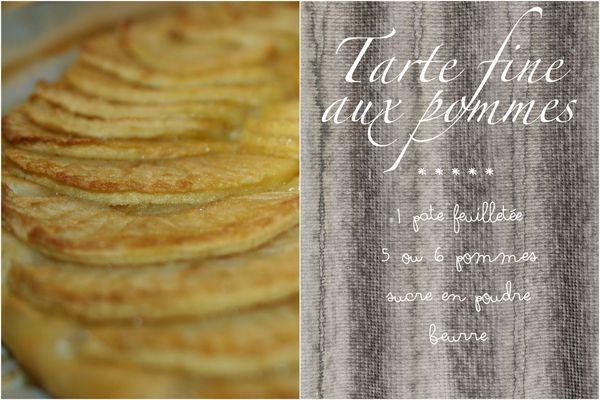 Tarte fine pommes1