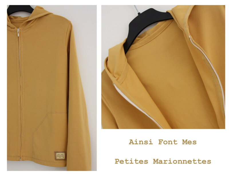 gilet moutarde 2