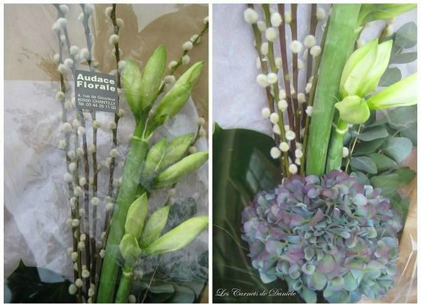 Audace florale - détails