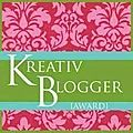 Kreative blogger award !