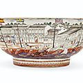 A famille rose hong bowl, qianlong period, circa 1785