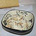 Risotto champignons-fromage