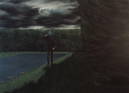 Pan !, acrylique sur toile, 165x146cm, 2012