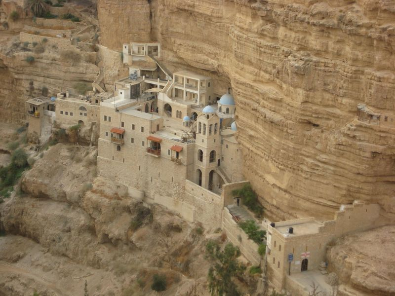 2008-10-25 Jéricho Monastère St-Georges de Koziba (3)