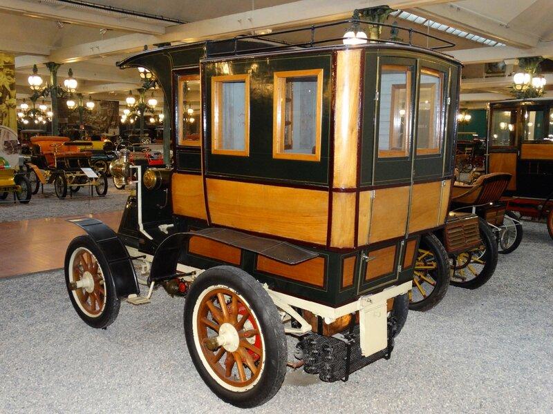 PANHARD & LEVASSOR type A2 tonneau fermé 1899 Mulhouse (2)