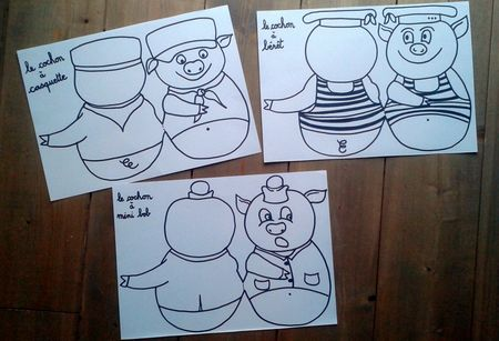 93_Personnages animaux monstres_Les trois petits cochons (10)
