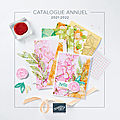 Catalogue annuel stampin'up! 2021/2022