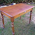 Transformation d'une petite table pour corinne