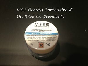 resine turquoise