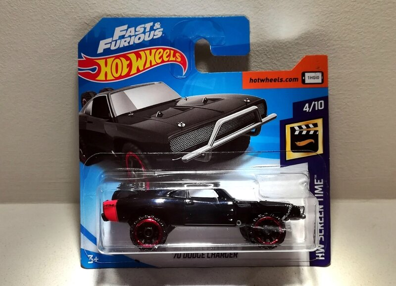 Dodge Charger de 1970 (Hotwheels)