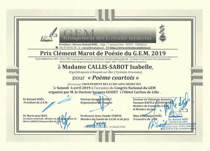 prix Clément Marot