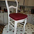 Tuto 49 - patine sur bois - chaises relooker schaby chic