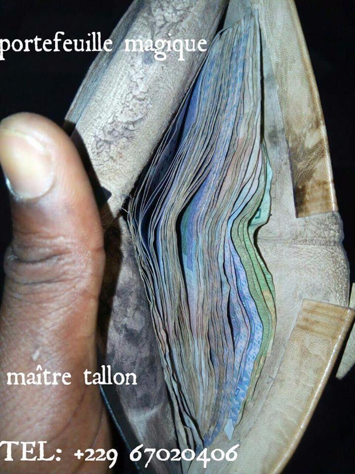 Portefeuille Porte Monnaie Bedou Magique Le Plus Grand Et