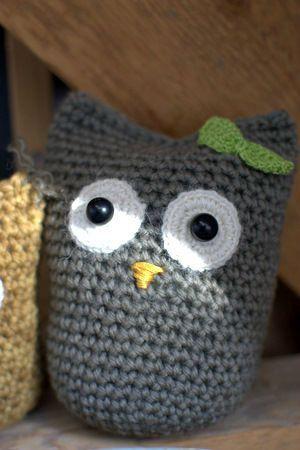 Help tuto chouettes madame fait du crochet - Tuto pour creer un sac en crochet ...