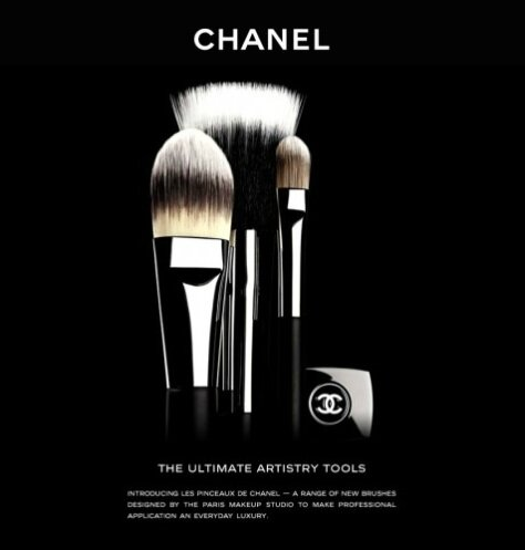 chanel pinceaux