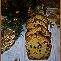 Cake de noël aux fruits confits