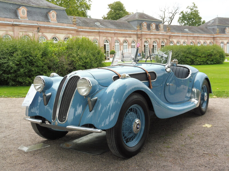 BMW 303 Sport roadster Ihle 1933 Schwetzingen (1)