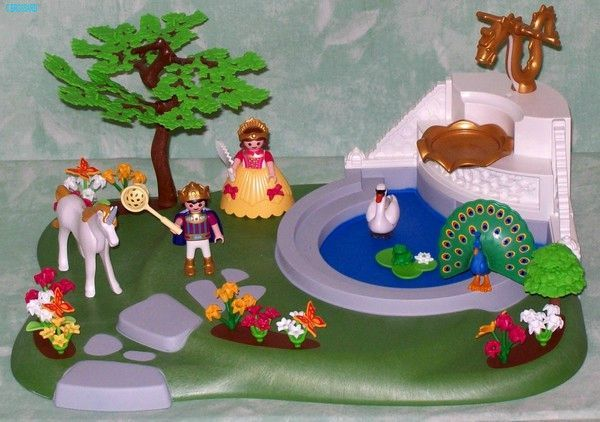 PHOTOS : PLAYMOBIL CHATEAU ET PARC