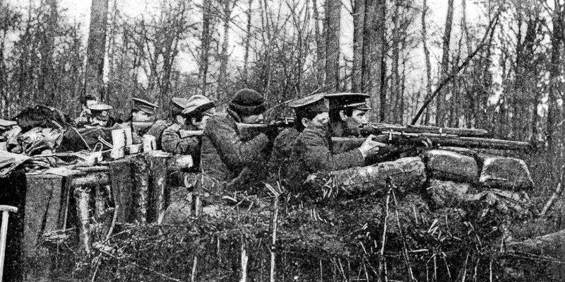 Marne 14 Britanniques en action