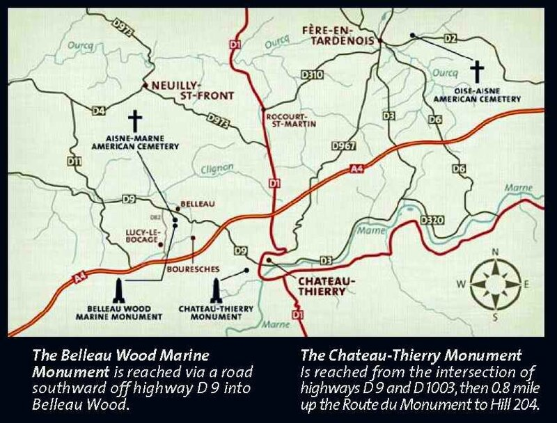 Belleau wood and Chateau Thierry