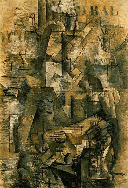 1911, Le portugais (huile sur toile, 117x81cm)