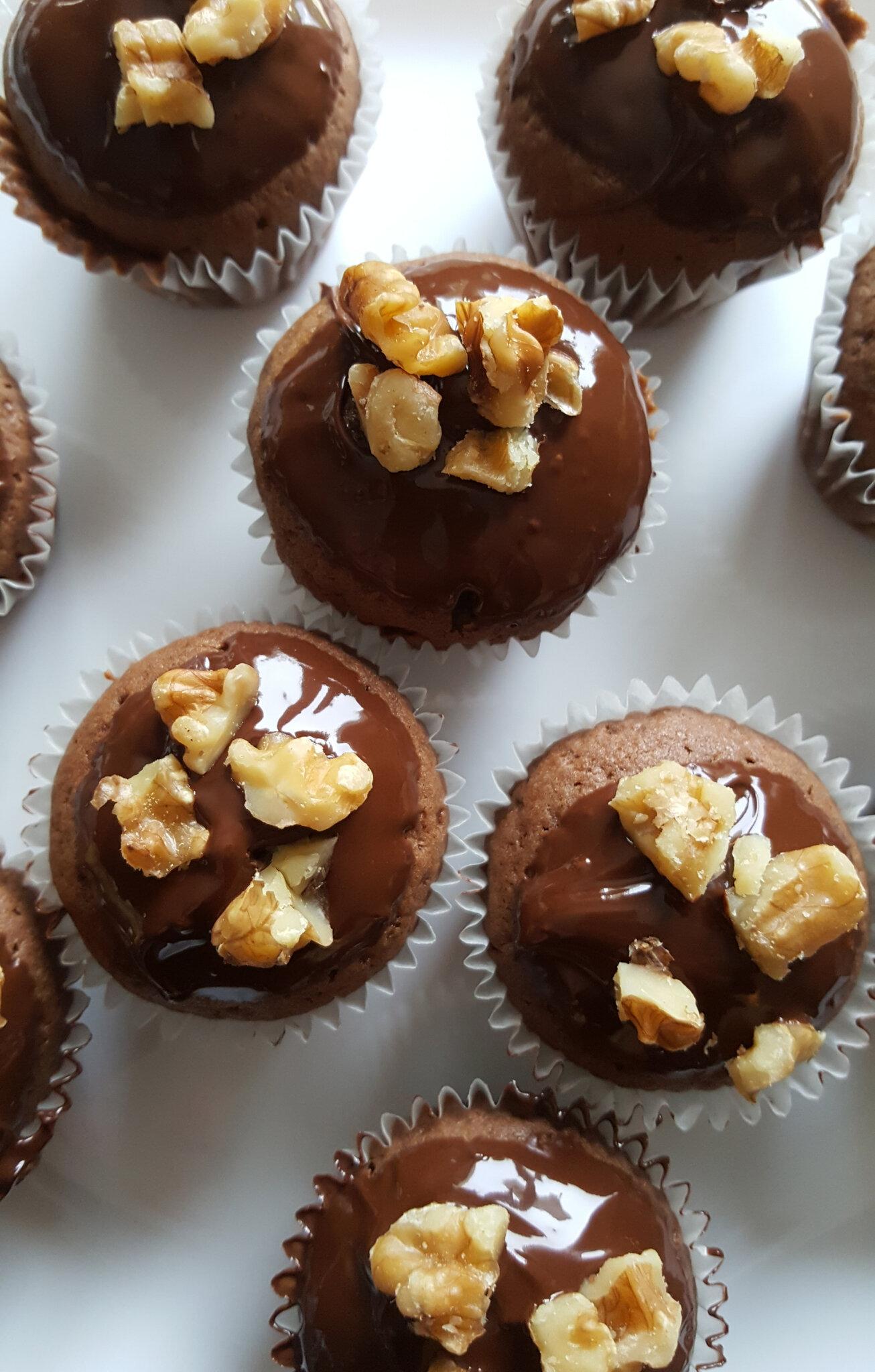 Cupcake choco noix