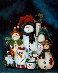 JMC0072_Snowman_Collection_Posters