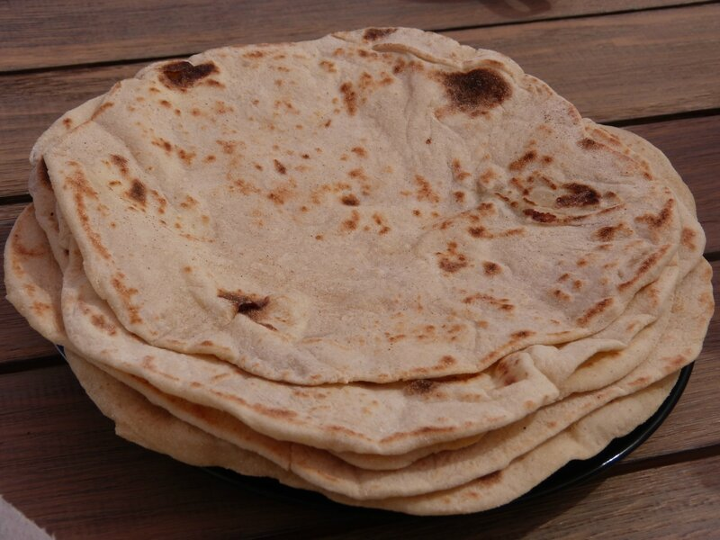 Naans au fromage facile