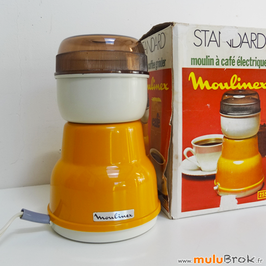 MOULINEX-Moulin-café-Orange-9-Seventies-muluBrok-Vintage