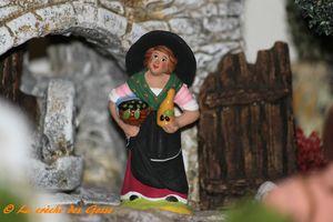 Moulin à l'huile - Femme aux Olives