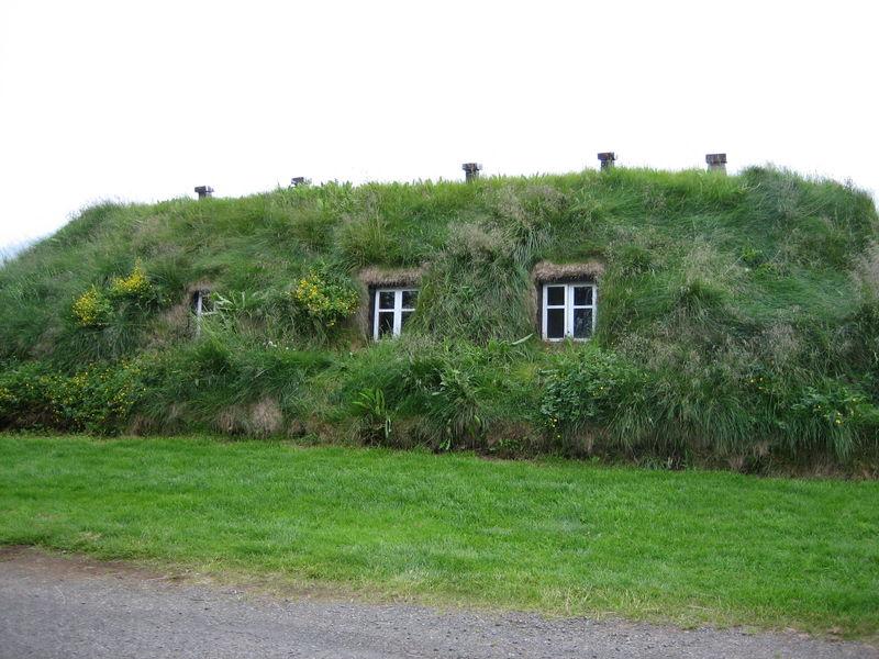 Maisons de tourbe