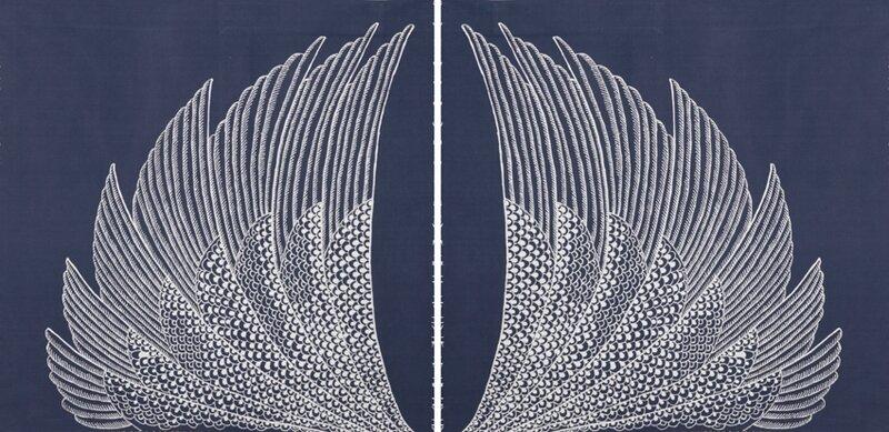 2 ailes bleues