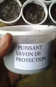 savon pour la protection