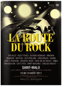 on the road to la Route du Rock 2011