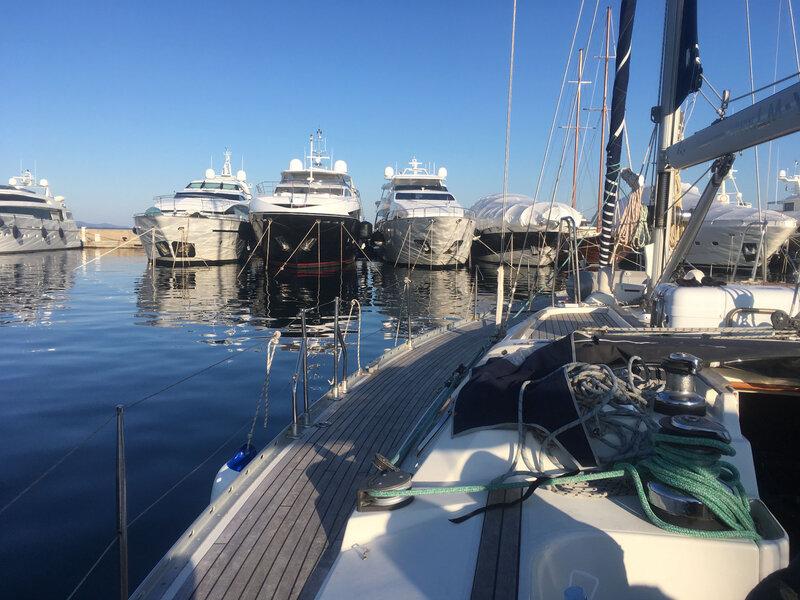Zadar, le port au petit matin, 8 mars 2020