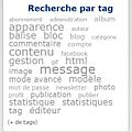 Quels caractères sont autorisés pour nommer un tag ?