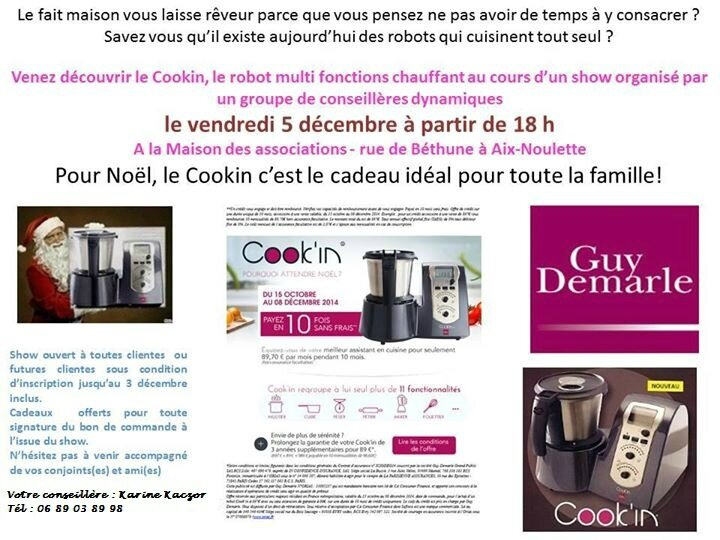 show cook'in aix Karine