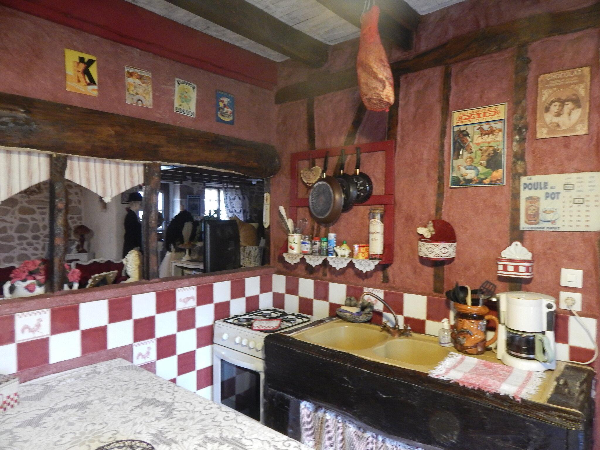 Déco // ma cuisine de grand mére - A la jonchére saint maurice