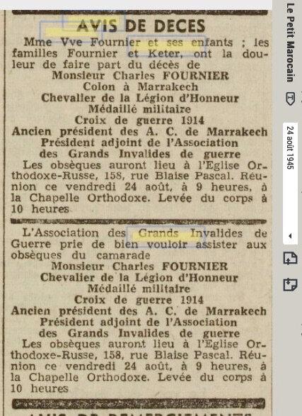 FOURNIER-Charles-MRK-deces-1945