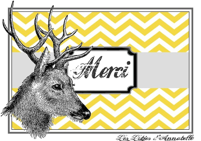 carte merci cerf