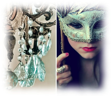 aqua_chandelier_and_mask_via_joyfolieblog