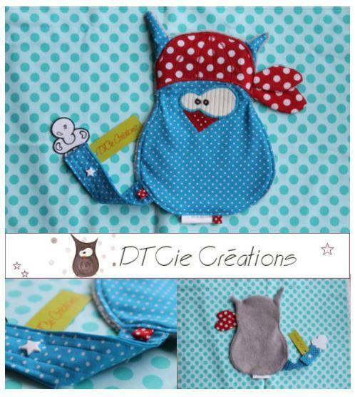 Doudou-attache-tétine-DTCie créations pour enfants