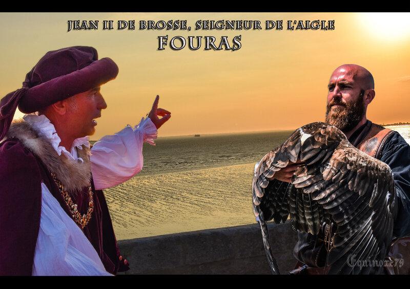 FOURAS Jean II de BROSSE, seigneur de l'Aigle