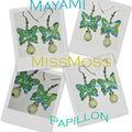 Mayami papillons, bubble gum...