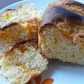 Cake à l'orange et abricot, sans matière grasse