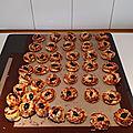 Minis croissants et minies pizzas pour l'apéritif 038
