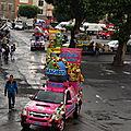 La caravane du Tour de France...