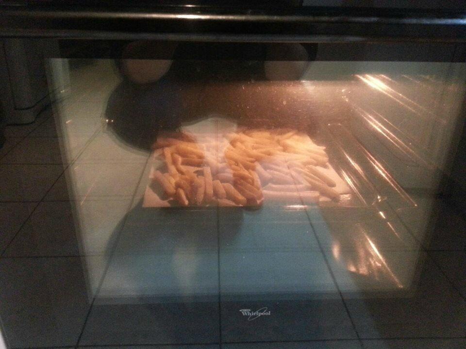 Les frites de Baptiste pour accompagner son Welsh burger