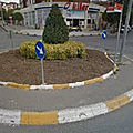 Rond-point à istanbul (turquie)